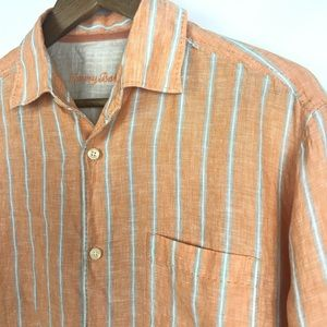 Tommy Bahama Mens Button Front Shirt Size Small